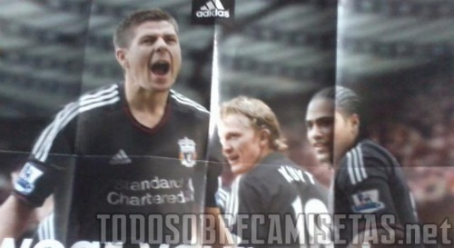 liverpool away shirt 11 Liverpool Away Shirt 2011 12: Leaked Photo