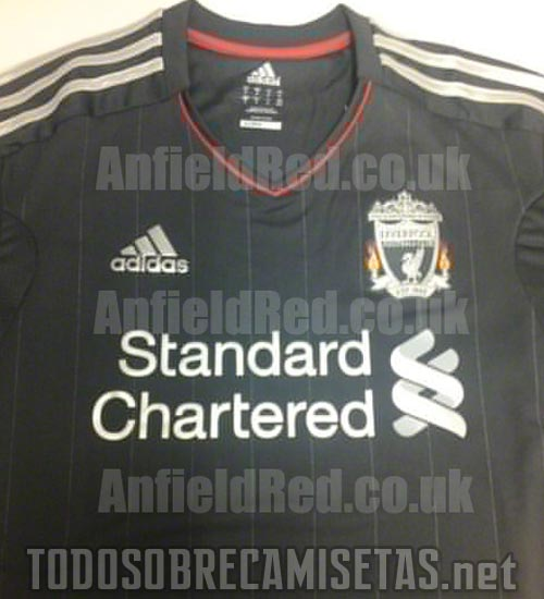 liverpool away shirt 2 Liverpool Away Shirt 2011 12: Leaked Photo
