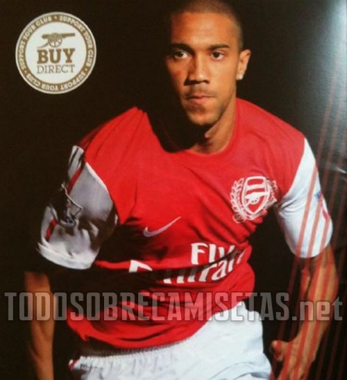 arsenal shirt 2 Arsenal Reveal Home Kit for 2011/12 Season: 125th Anniversary Photos
