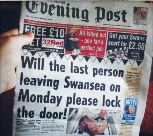 swansea playoff final1 Reading vs Swansea, Championship Playoff Final: Open Thread