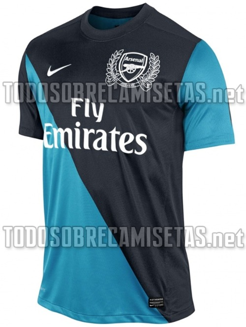 arsenal away shirt 1 Arsenal Away Shirt for 2011 12 Season: New Photos Leaked