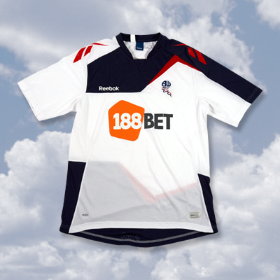 bolton home shirt1 Best and Worst Premier League Shirts of 2011 12