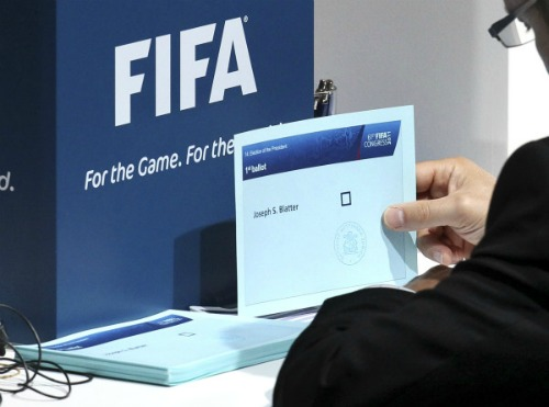 fifa election vote small1 The Democracy Of FIFA: Photo Evidence