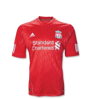 liverpool home shirt1 Best and Worst Premier League Shirts of 2011 12