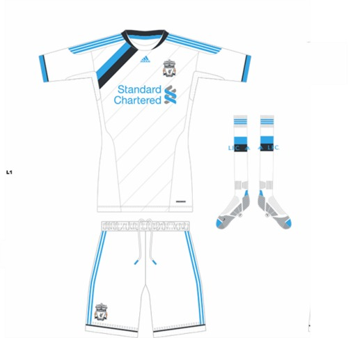 liverpool third kit1 Liverpool Third Shirt for 2011 12 Season: Official Photos Revealed