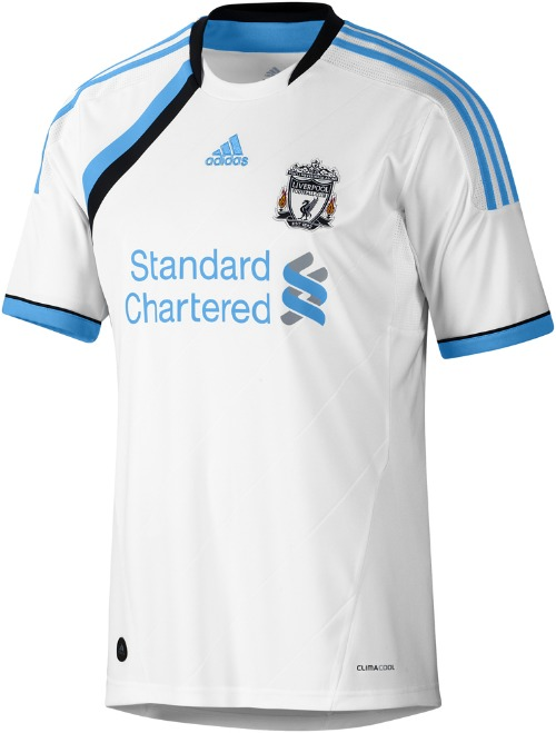 Liverpool Third Shirt For 2011 12 Season Official Photos