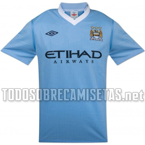 man city home shirt 11 Manchester City Home Shirt for 2011 2012 Season: Video and New Photos