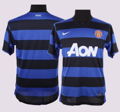 d3ab0b5ce06 Manchester United Away Shirt for 2011-12 Season  Leaked Photo ...