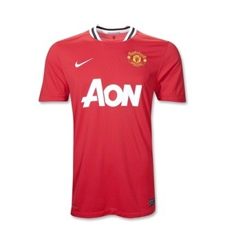 man united home shirt1 Best and Worst Premier League Shirts of 2011 12
