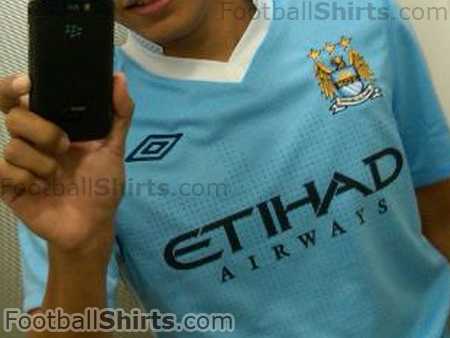 manchester city home shirt1 Manchester City Home Shirt for 2011 12 Season: Leaked Photo