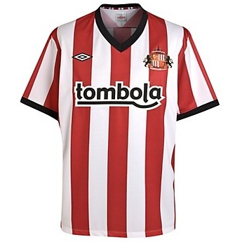 sunderland home shirt1 Best and Worst Premier League Shirts of 2011 12