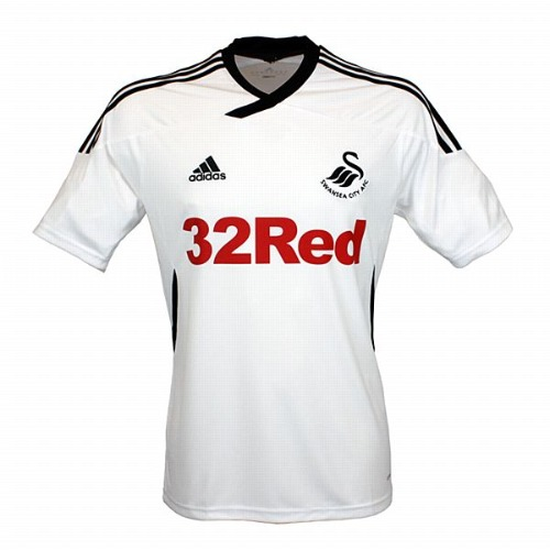 swansea home shirt1 Top 10 Favorite Soccer Shirts of the Premier League Era