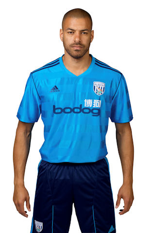 west bromwich albion away shirt1 West Bromwich Albion Away Shirt for 2011 12 Season: Photo