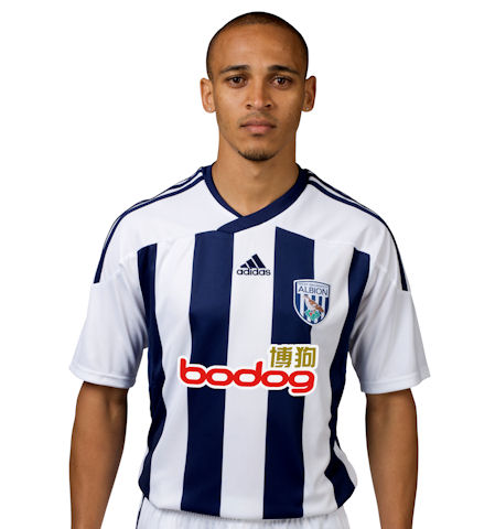west bromwich albion home shirt1 Best and Worst Premier League Shirts of 2011 12