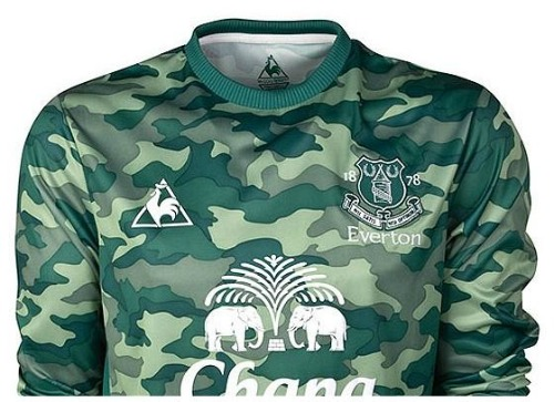 everton goalkeeper jersey1 Tim Howard Is Going Commando for Everton Next Season