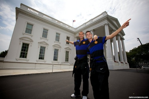 ferdinand macheda white house1 Manchester United vs Barcelona Friendly: Roll Call
