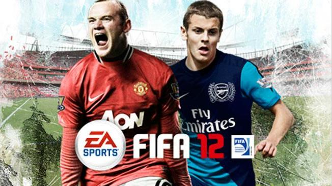 fifa 12 uk cover rooney wilshere1 Jack Wilshere and Wayne Rooney Grace FIFA 12 Cover in UK: Photo