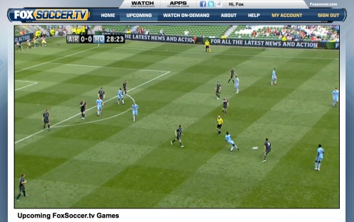 fox soccer tv website preview 21 FOXSoccer 2Go for iPad: Exclusive Video Preview