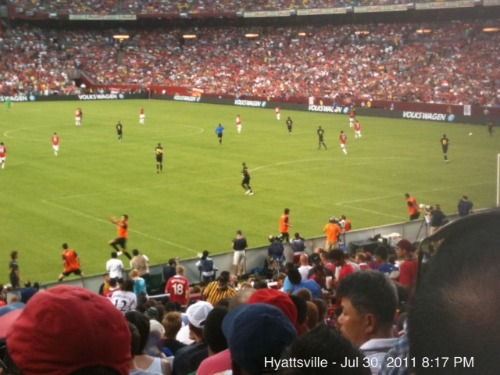 man united barcelona1 Manchester United 2011 US Tour: In Pictures