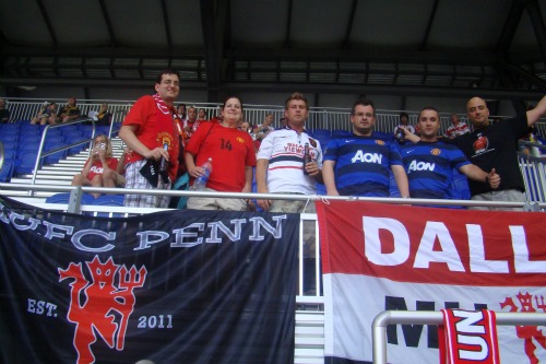 man united fans11 Manchester United 2011 US Tour: In Pictures