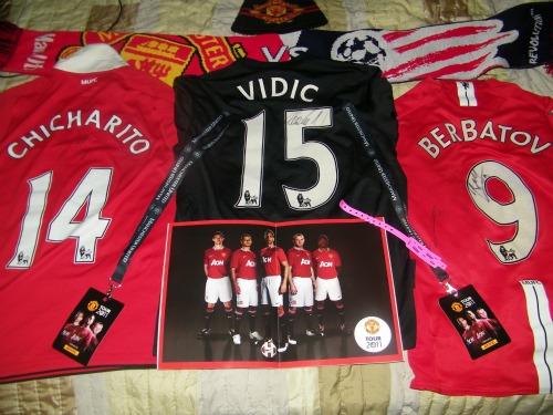 man united merchandise2 Manchester United 2011 US Tour: In Pictures