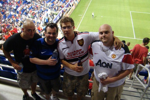 man united supporters mls all star game1 Manchester United 2011 US Tour: In Pictures