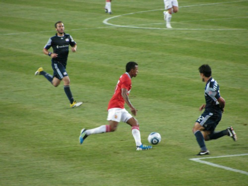 nani man united new england revolution1 Manchester United Kick Off US Summer Tour With 4 1 Win Against Revs