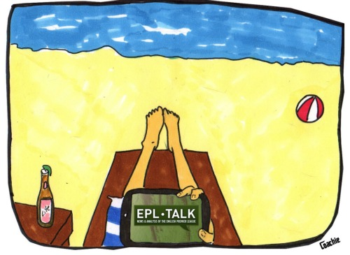 EPL Talk at the beach1 How Do I Love Thee Premier League? Let Me Count The Ways