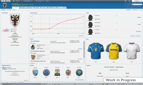 football manager 2012 screenshot 11 Football Manager 2012: Photos and Videos And More Than 800 New Features