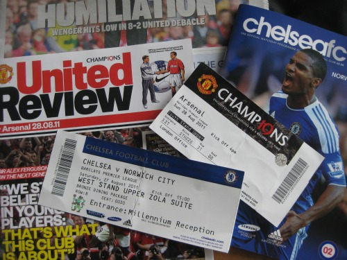 Like Father, Like Son: Experiencing a Premier League Trip of a Lifetime