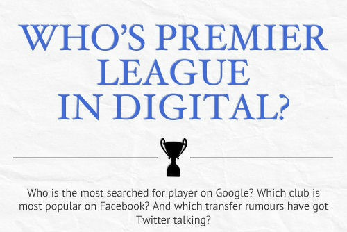 who is premier league in digital small1 Most Popular Premier League Players and Clubs: Infographic