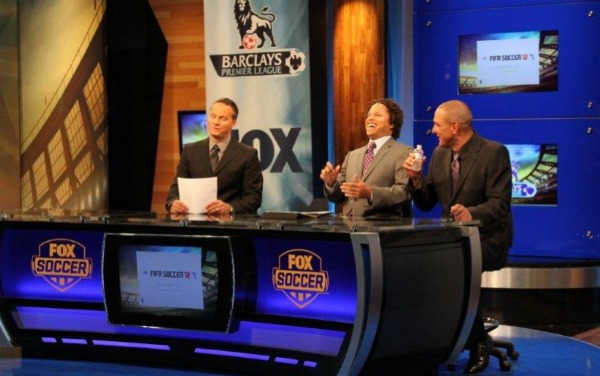 fox soccer studio FOX Passes The Test With First EPL Game On Free to Air TV