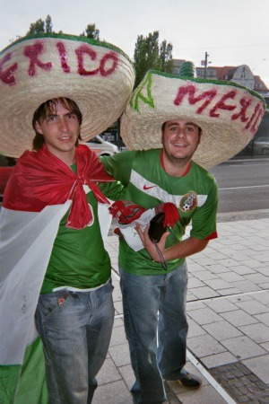 mexico fans Interview with John Doyle, Author of The World Is A Ball