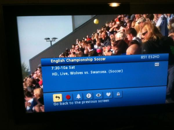 wolves vs swansea Wolves Against Swansea: Comcast and ESPN2 Fail