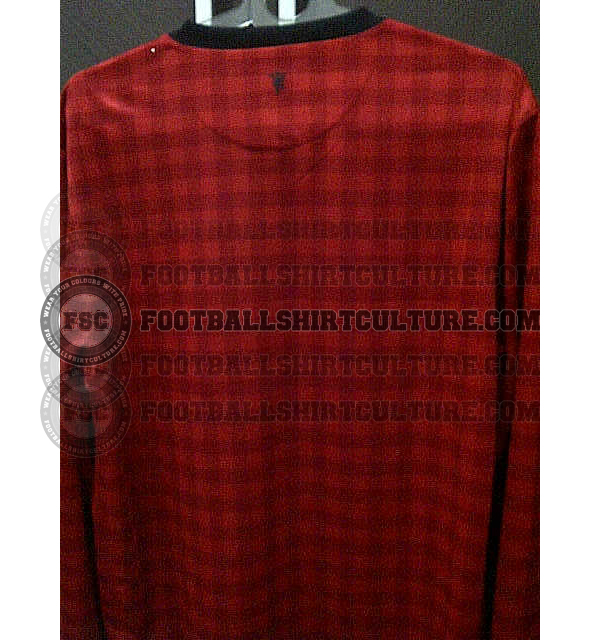 Manchester United 12 13 nike home leaked 2 Manchester United Home Shirt for 2012 13 Season: Leaked Photo
