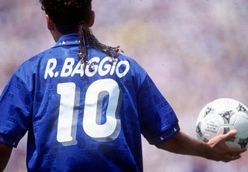 Roberto Baggio Top 10 Footballers With Wackiest Hairstyles in World Soccer