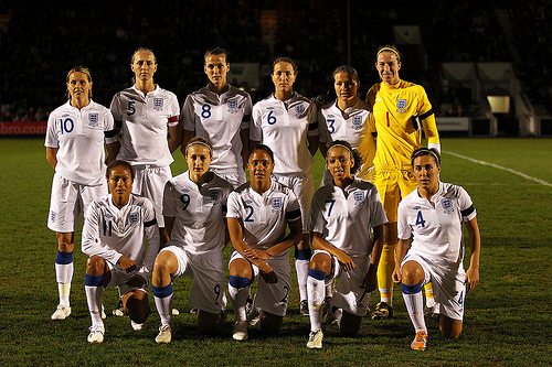 england ladies v usa ladies womens international. 020411©media image ltd. fa accredited. premier league licence no prem1011p3851. football league licence no fl1011p3851. tel +4407974 568 859. email andi@mediaimage.ltd .uk 5 norwood rd gatle How Sexism Affects Women's Football in the UK