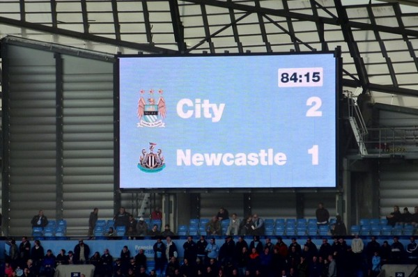 manchester city newcastle united 600x398 Manchester City vs Newcastle United: Two Teams On The Rise