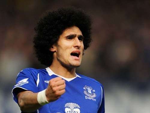 marouane fellaini Marouane Fellaini Shines With Physical and Technical Combination