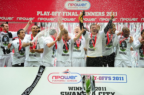 soccer npower football league championship play off final reading v swansea city wembley stadium Swansea City: The Welsh Barcelona of the Premier League