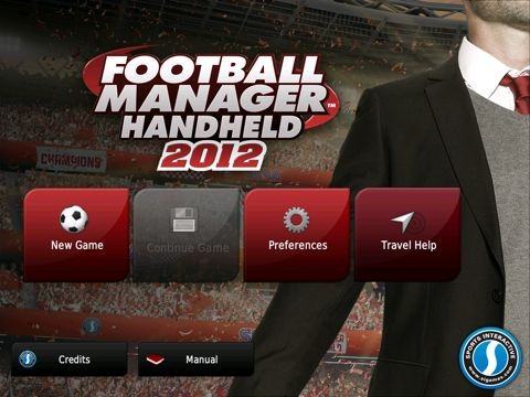 Football Manager Handheld 2012 for iPad Football Manager Handheld 2012, iPad Edition: First Look