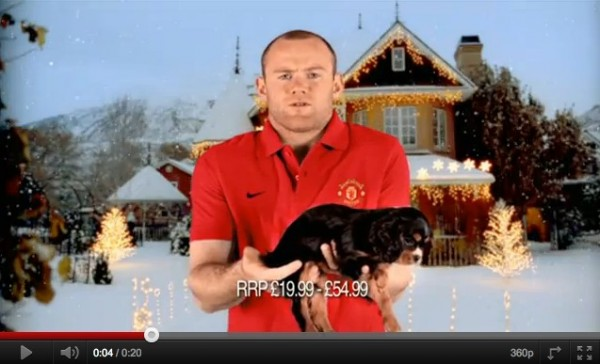 Wayne Rooney Holiday x FIFA Christmas TV Commercial Starring Wayne Rooney Video