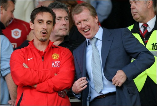 gary neville steve mcclaren Gary Neville and Steve McClaren Show The Best And Worst of Being a Football Co Commentator