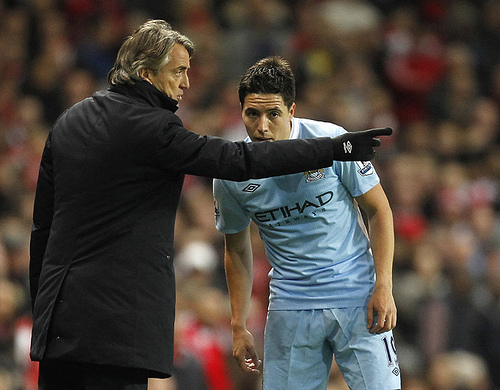 samir nasri1 Samir Nasri One, Arsenal Nil, But Round 2 Beckons