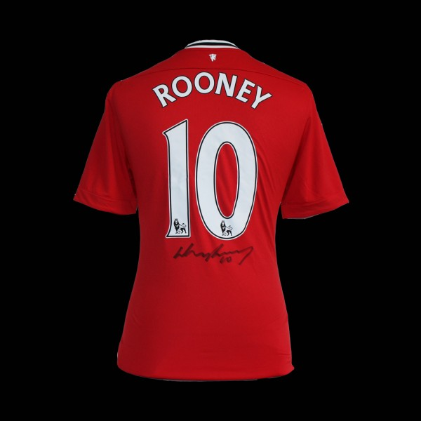 wayne rooney1 600x600 A Signed Premier League Footballers Shirt   The Perfect Christmas Present?