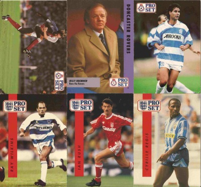 english football cards pro set sm English Football Cards From Early Nineties (Pro Set): Photos