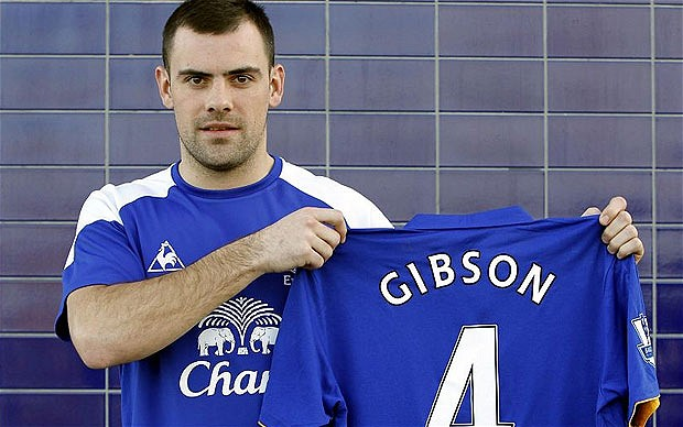 gibson 2108383b Darron Gibsons Arrival at Everton Will Lift The Toffees For Remainder Of Season