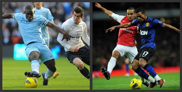 man city spurs arsenal man utd 4 Things Learned from Man City vs Spurs and Arsenal vs Man United