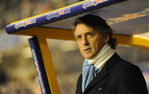 roberto mancini Roberto Mancini Needs to Channel His Inner Mourinho To Help City Win The Title