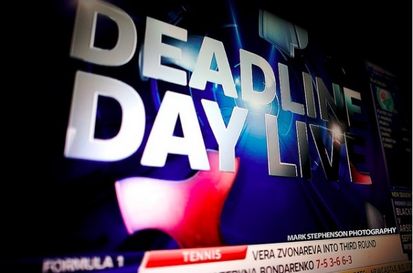 transfer deadline day 600x397 Top 10 Premier League Transfer Targets for Sky Six Clubs